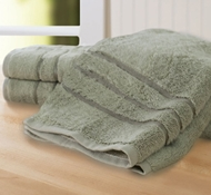 Bamboo Hand Towel (Set Of 3) - Caribbean Mint
