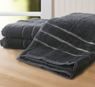 Bamboo Hand Towel (Set Of 3) - Graphite