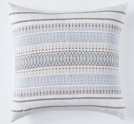 Coyuchi Lost Coast Organic Cotton Decorative Pillow Cover in Earth