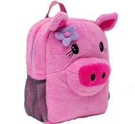 Ecogear Brite Buddies Plush Backpacks - Pig