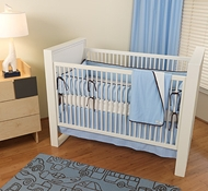 Vein Organic Cotton Crib Bedding ($49- $663)
