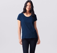 Coyuchi Essential Organic Cotton Shirt - Midnight