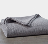 Coyuchi Sequoia Organic Cotton and Wool Blanket - Gray
