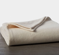 Coyuchi Sequoia Organic Cotton and Wool Blanket - Natural