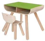 Plan Table & Chair - Green