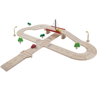 Plan Toys Eco-Friendly Road System Deluxe