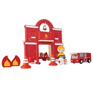 Plan Toys Eco-Friendly Fire Station