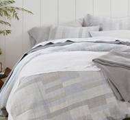 Anza Organic Matelasse Duvet Covers and Shams