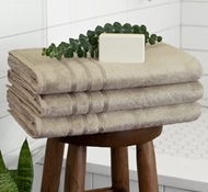 Bamboo Towels - Stone