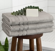 Bamboo Towels - Harbor Gray