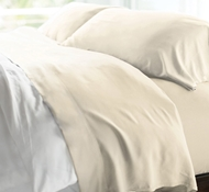 Resort Bamboo Bed Sheet Sets - Coconut Milk