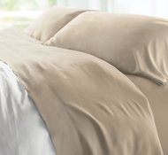 Resort Bamboo Bed Sheet Sets - Stone