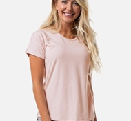 Women's Bamboo Dolman Pajama V-Neck Shirt - Blush