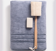 Bamboo Bath Towels - Blue Lagoon