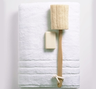 Bamboo Bath Towels - White