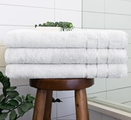 Bamboo Bath Sheets - White
