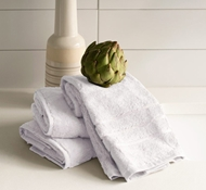 Bamboo Hand Towel Set - White