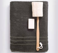 Bamboo Bath Towels - Onyx