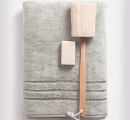 Bamboo Bath Towel - Harbor Gray