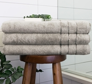 Bamboo Bath Sheet - Harbor Gray