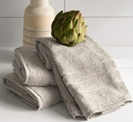 Bamboo Hand Towel Set - Harbor Gray