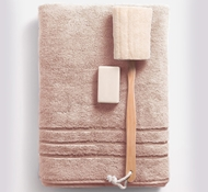 Bamboo Bath Towels - Blush