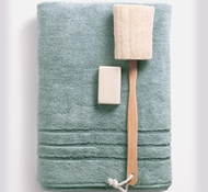 Bamboo Bath Towels - Ocean Mist