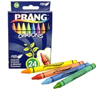 Regular Size Prang Soybean Blend Biodegradable Crayons, Tuck Box - 24 Count