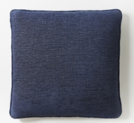Coyuchi Organic Cozy Cotton Decorative Pillow Cover in Moonlight Blue