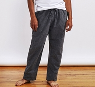 Men's Cloud Brushed Organic Flannel Pajama Pant - Charcoal Heather
