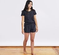 Women's Solstice Organic Short - Deep Graphite