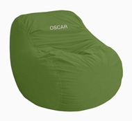 Adult Size Big Bean Lounger Chair - Organic Cotton Cover - Certipur Fill