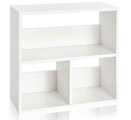 Eco Friendly Collins Cubby Organizer, White