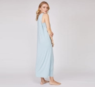 Bamboo Sleeveless Drape Dress