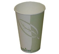 Ecotainer PLA-Coated Compostable Paper Hot Cups by EPS