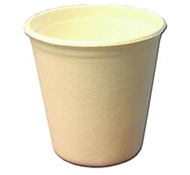 Biodegradable Compostable Bagasse Hot Cups (50 ct) by EPS