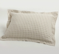 Coyuchi Organic Cotton & Linen Birch Pillow Shams