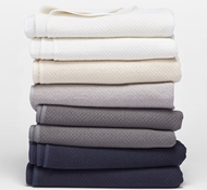 Organic Cotton Honeycomb Blankets