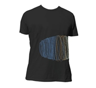 Silkworm Black Mens & Womens Organic Cotton Tee Shirt