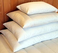 Organic Cotton & Wool Bed Pillows