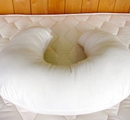 Holy Lamb Organic Cotton & Wool U-Shaped Nursing Pillows
