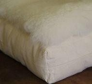 Holy Lamb Organic Cotton & Wool Fleece Cradle & Bassinet Topper