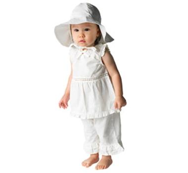 Under the Nile Organic Cotton Poplin Baby Sun Hat 9e09763fd088